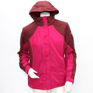Columbia Omni Shield Hooded Jacket Womens Sz Med
